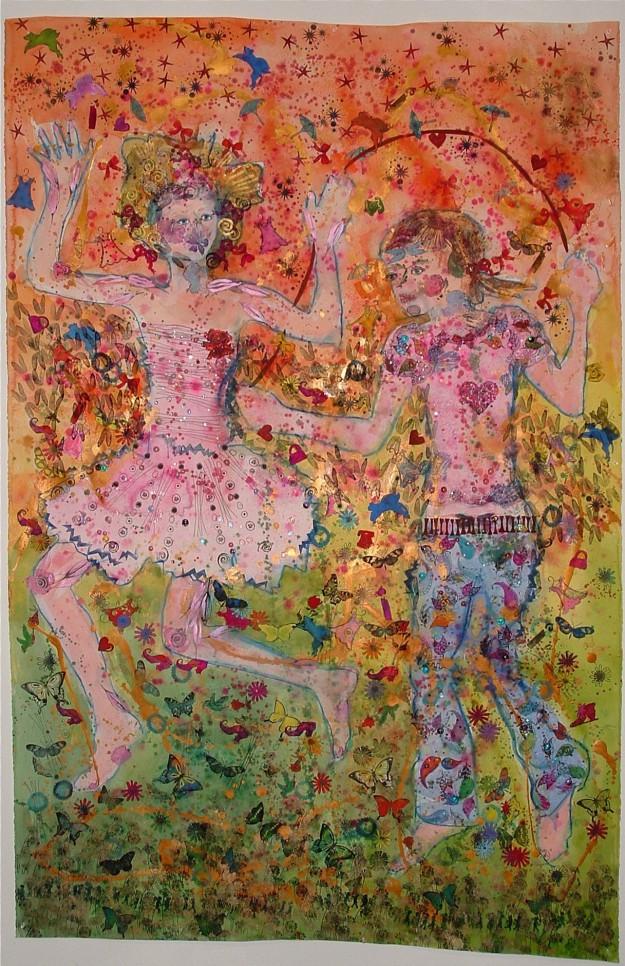 Chloe and Rachel, Halena Cline source: the artist Halena Cline source: the artist
