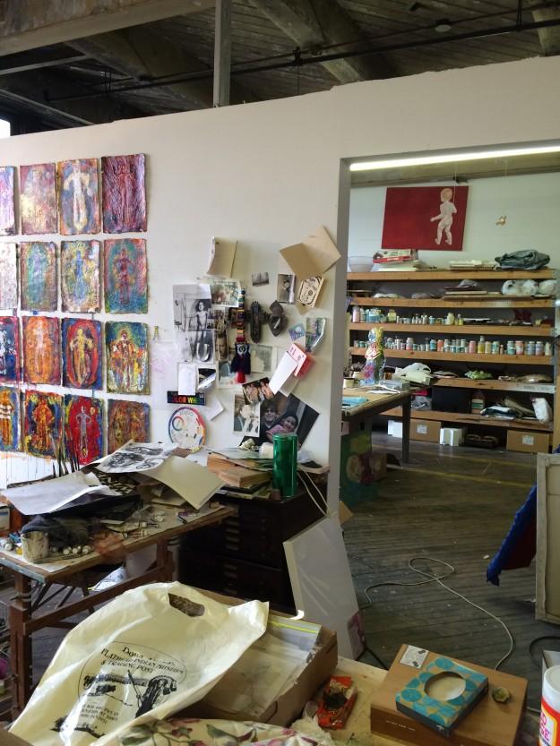 Halena Cline's studio