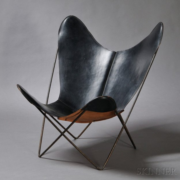 http://design-milk.com/20th-century-design-auction-features-big-names-affordable-picks/leather-butterfly-lounge-chair/