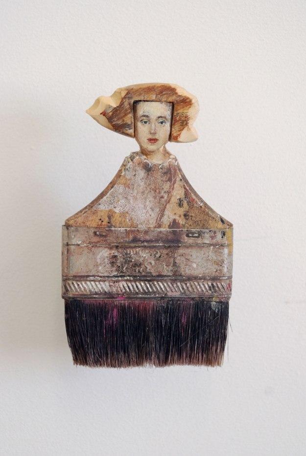 http://www.yellowtrace.com.au/sculptural-portraits-paintbrush-handles-rebecca-szeto/